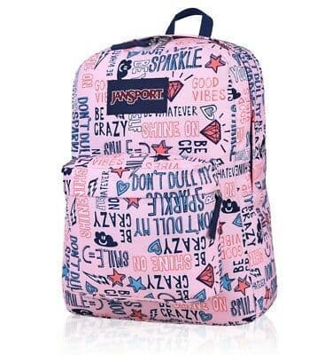 Jansport superbreak shine on